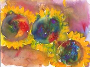 sunflowers1 April 2015
