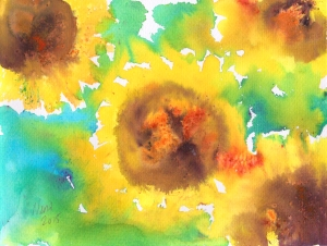 sunflowers2 April 2015