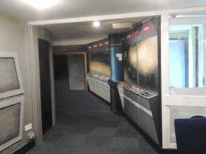 The Grove Spaceship mural 2