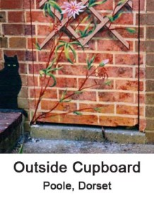 outside cupboard