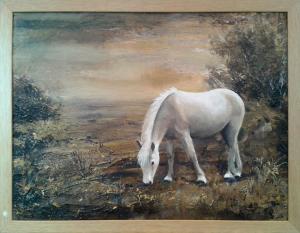 sepia pony