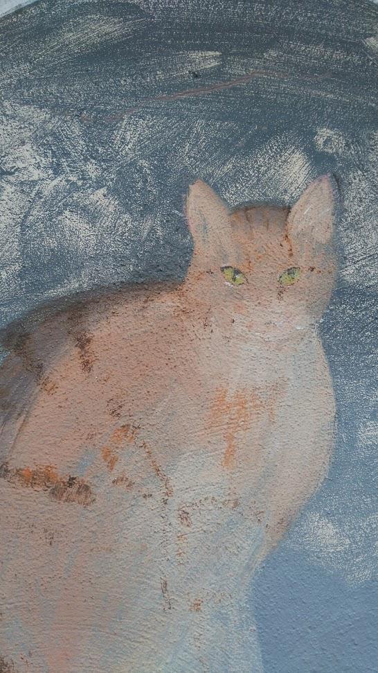 cat faded 2