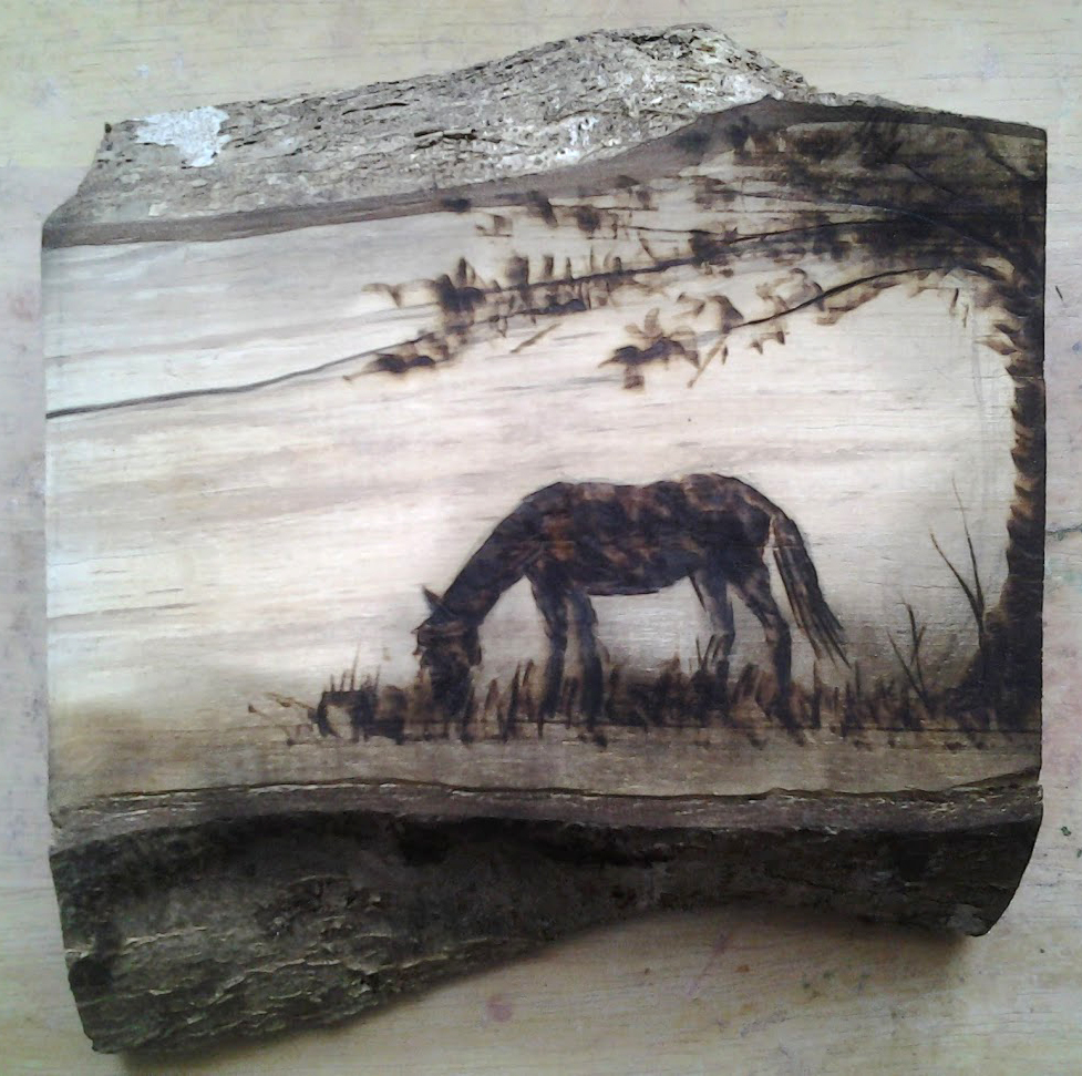 new forest pony_pyrography3