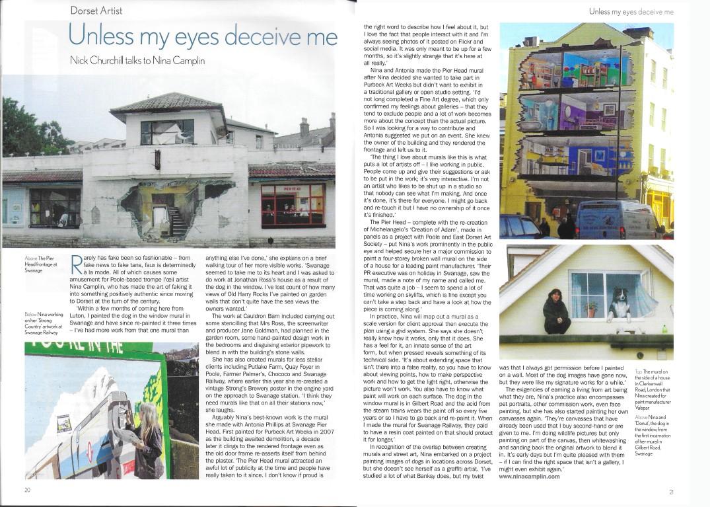Dorset Life Article November 2017