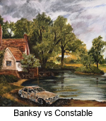 Banksy vs Constable TN
